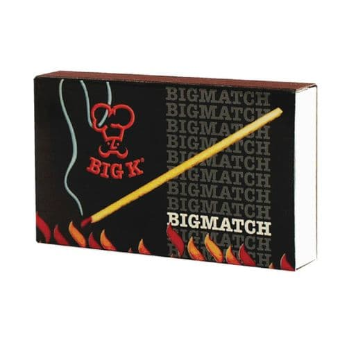 Big K Safety Matches (Pack of 60)